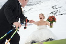 Wedding Wedding Wedding  / Say I do in the heart of the Canadian Rockies. Located in Banff National Park and featuring breathtaking mountain views, the Sunshine Mountain Lodge provides a spectacular 360 degree alpine backdrop for a distinctive ceremony and reception. For more information visit Skibanff.com