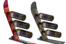 Ski Furniture and Art / Creative furniture made from skis and snowboards.