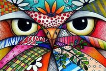 Patterning, Doodling, & Tangles