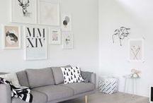 Living room / Living room, salon / salle à manger d'inspiration scandinave pour la majorité, généralement dans un loft. #livingroom #salon #salleamanger