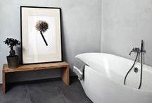 Bathroom / Inspirations pour des salle de bains souvent épurées, zen, scandinaves… Bathroom