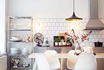 Kitchen / beautiful scandinavian, industriel kitchen