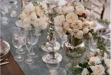 Sandy and Dad's Wedding / Grey and lavender? Grey and blush?