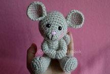 Amigurumi - mice
