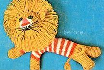 Amigurumi - Lions, tigers