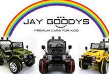Kids Ride-on Jeep Battery Powered / Jay Goodys sells luxurious, manufactured, cheap; electronic toy cars for children.