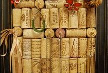 WHY I LOVE WINE / I'm a wine lover so it's always fun to find craft and art ideas to use with left over bottles and corks.
