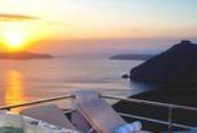 Luxury Villas Santorini / Luxury Villas in Santorini Island, Greece. http://www.edeliving.com/villas-greece/santorini