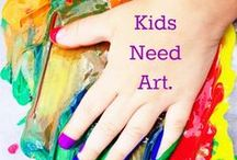 Art Projects for Grade School / by Lisa Bertetto