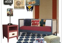 Superhero Artwork, Wall Decor, Ideas and Inspirational Rooms / Superhero ideas hosted by artist and designer Aaron Christensen