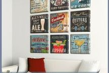 Man Cave Ideas / Man Cave Decor, Furniture and Art Ideas.  Design ideas via mood boards and diy's.
