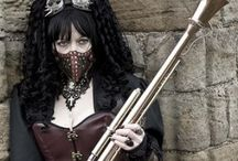 Steampunk bby / SEXYNESS AND AWESOMENESS!! / by Sarah C