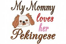 Puppy Mom  / Ideas for my dog(s) and pictures of my favorite breed, the Pekingese / by Erikka Elsbury