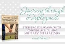 Journey Through Deployment (Book) / Available on Amazon Kindle and Print, Nook, and PDF. / by Singing Through the Rain