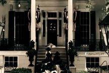 American Horror story / Murder House season 1, Asylum Season 2, Coven Season 3. Season 4 Freak-Show
