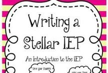 IEPs and Goals / by Holly Thompson