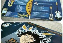 "Project ""Roots"" dei Betta Blues Society / characters for the new Betta Blues Society CD - Roots"