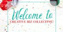 Creative Biz Collective / A community to connect and collaborate for creative biz owners! This board is an extension of our Facebook group. If you would like to become a collaborator for this board, please join us at http://facebook.com/groups/creativebizcollective