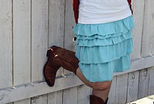 Crafts/Sew- Skirts / Skirts that inspire me to fashion something similar