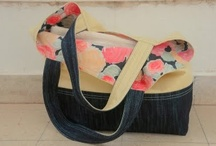 Crafts/Sew- Totes & Bags / Is toting a word? Purses, bags, totes  that inspire me to fashion something similar