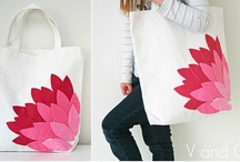 Crafts/Sew- Stenciling & Applique / I love to freezer paper stencil, some inspirations for future projects / by Ellen Davenport