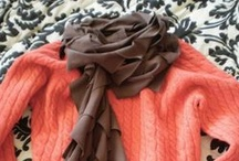 Crafts/Sew- Scarves / Wrap it up tight to warm it up right