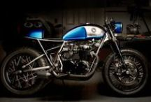 Cafe Racers / Cafe Racer Motorcycles / by Adam Deming