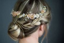 Wedding Hair Ideas / Bridal and bridesmaid hair ideas from all ends of the spectrum