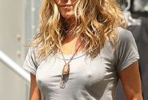 "Jennifer Anniston is more gorgeous than Angelia Jolie. / ""O! she doth teach the torches to burn bright"" / by Alice Parker"