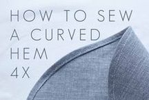 Atelier // Fashion / Sewing: Pattern cutting, sewing techniques, tutorials, diy, inspiration, pdf sewing patterns the best resources to improve sewing skills