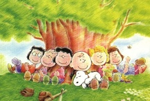 Charlie Brown & the Peanuts Gang / I can still see our 4 kids lined up in front of TV for the Charlie Brown specials.  Love the music, makes me remember my little ones. / by Rita Diffenauer