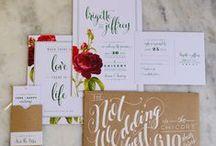 Stationery / by The Original Wedding Company