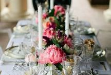 Table Centrepieces / by The Original Wedding Company
