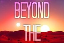 BEYOND THE RED / Mood board for my upcoming YA Sci-Fi debut BEYOND THE RED (releasing Spring 2016 from Sky Pony Press!)