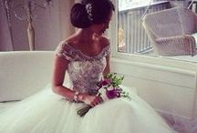 When in White.. / Dream wedding dresses  / by Elizabeth Watson