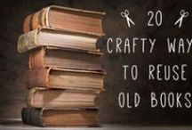 Bookish Arts & Crafts / Art and Crafts using books or parts there of