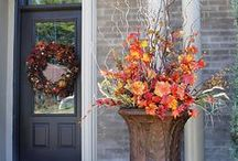 All Things Fall / Decorating ideas, craft ideas, DIY, home decor for the fall season. Pumpkin recipes and apple recipes too!