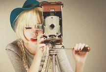 """I <3 vintage cams / """"We all know the sound a camera makes when it snaps a picture. Even some of the digitals do it for nostalgia's sake."""" ― Jay Asher"""