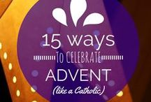 Advent / Catholic Advent - preparing the heart and the home for Christmas. DIY ways to celebrate Advent and the coming of Christmas