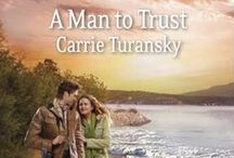 A Man To Trust / Book 2 in the Bayside Treasure Series. Contemporary, heartwarming, inspirational, romance. Set in Fairhaven, Washington.