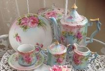 Tea Time / Recipes, place settings, lovely teacups and china. Enjoy afternoon tea with me!