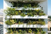 green urban architecture