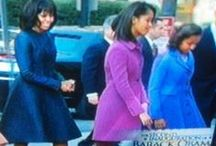 MICHELLE OBAMA & FAMILY / by Jewel Lundy