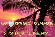 SuMmEr iS cOmInG.....<3 / SPRING-SUMMER 2013