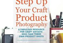 Product Photography Tips / Great product photography is absolutely essential for craft business owners. Whether you sell crafts online, or you are applying to juried craft shows, you'll need great photos of your handmade treasures. Here are plenty of tips and tutorials to improve your craft photography skills.