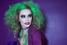 Disfraces y maquillaje raro