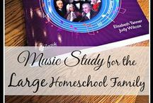 Home Education - Music / A collection of ideas to teach music in the homeschool