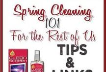 Spring Cleaning / Spring cleaning tips and ideas
