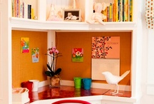 Mom's Mojo {Work} Space / Work-at-home work space ideas