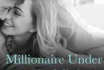 Millionaire Under the Mistletoe / Inspiration board for One Last Wish, a romantic novel set between the English Countryside and London during Christmas